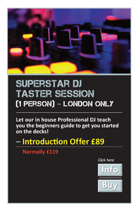 Superstar DJ Taster Session