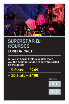 Superstar DJ Courses