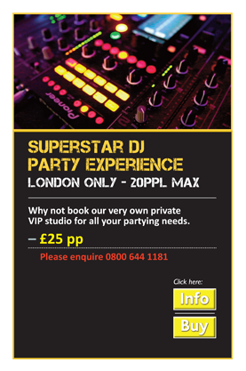 Superstar DJ Party Experience